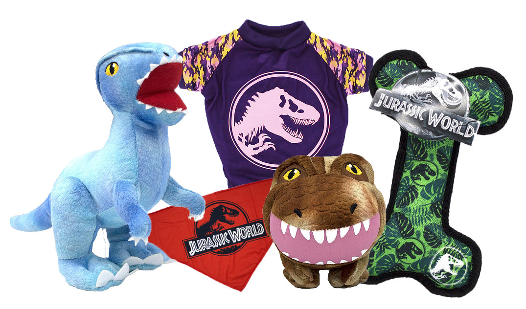 Jurassic World ROARS INTO PET!